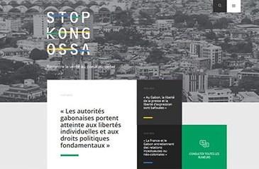 Le Gabon d'Ali Bongo - Communication présidentielle : Où est donc passé stop-kongossa.com ?