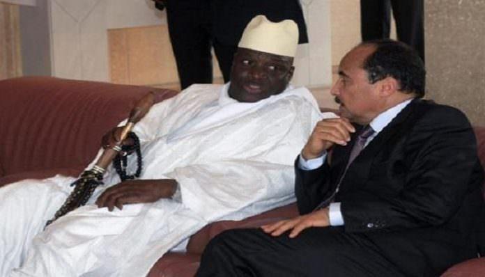 mauritanie gambie 696x398 1 696x398 - Yaya Jammeh aurait quitté la Gambie, direction Mauritanie
