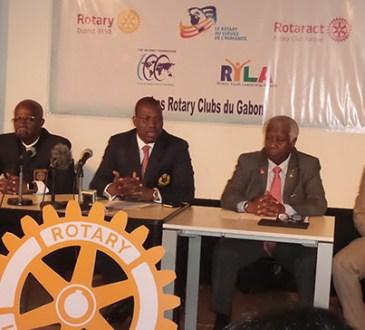 Rotary 1 - Rotary : Les clubs du Gabon soufflent la 100e bougie de la Fondation Rotary
