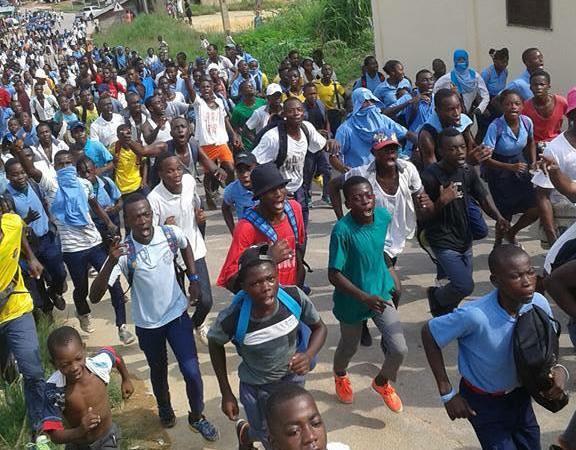 crise dans leducation a koulamoutou ca aussi bouge - Crise dans l'éducation : à Koulamoutou ça aussi bougé
