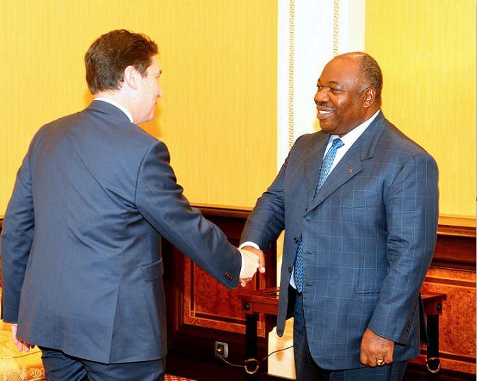 France/Gabon : le sénateur français Olivier Cadic, reçu par M. Ali Bongo Ondimba