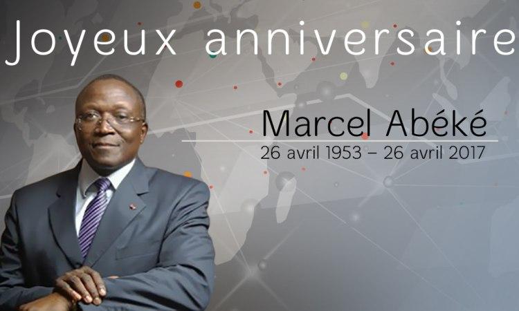 Joyeux anniversaire: Marcel Abéké fête ses 64 ans aujourd'hui
