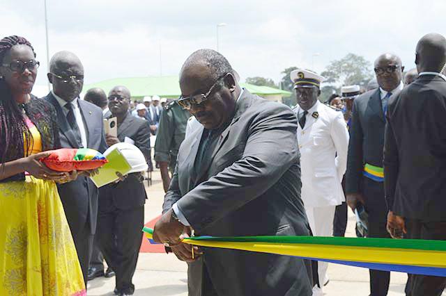Agro-industrie : Ali Bongo inaugure l'usine de l'huile de palme de Mouila