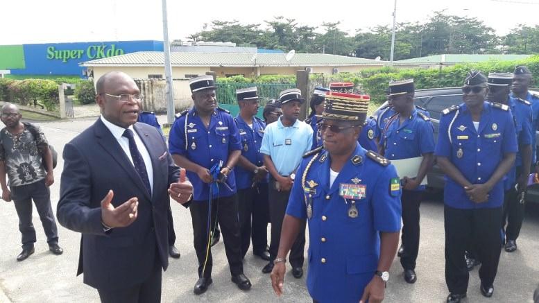 Gabon : Le Groupe Ceca-Gadis dote le camp de gendarmerie d'Owendo d'une aire de jeux