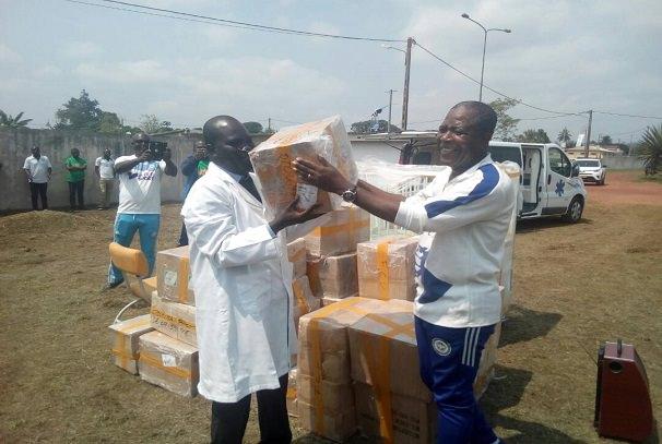gabon le geste de coeur dotounga ossibadjouo pour le centre medical dokondja - Gabon : Le geste de cœur d'Otounga Ossibadjouo pour le Centre médical d'Okondja