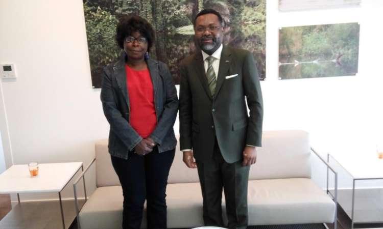Rencontre avec le nouvel Ambassadeur du Gabon en France, Son Excellence M. Flavien Enongoué