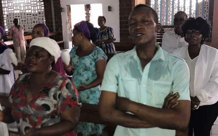 """le prélat  - 57e Fête de l'indépendance : """"Messe pour le Gabon"""""""