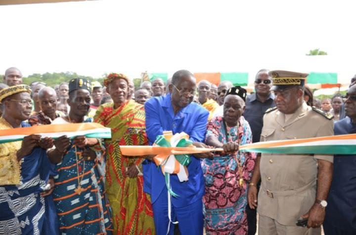 Développement de la région du Bélier: Jeannot Ahoussou Kouadio livre plusieurs infrastructures aux populations