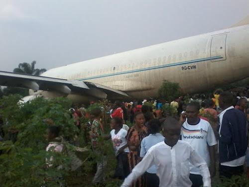 Crash d'un avion militaire à N'sele : tous les membres d'équipage sont morts
