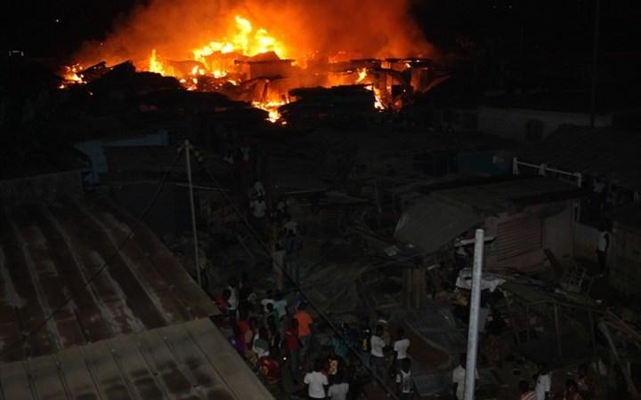 Côte d'Ivoire: un incendie ravage plusieurs magasins au grand marché d'Abobo