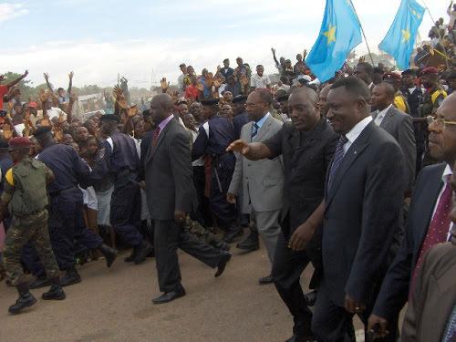 RDC : Joseph Kabila séjourne à Kalemie