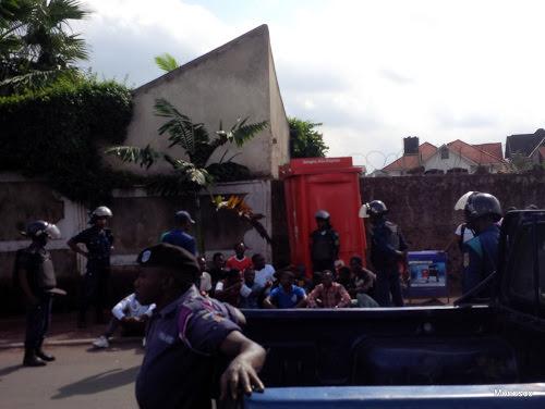 Goma : une manifestation de la LUCHA dispersée par la police