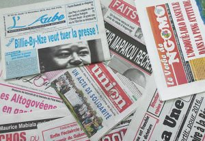 Médias Gabonais  : Une presse partisane !