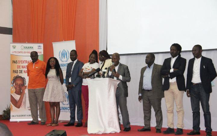 Lancement à Abidjan du Prix du meilleur journaliste contre l'apatridie