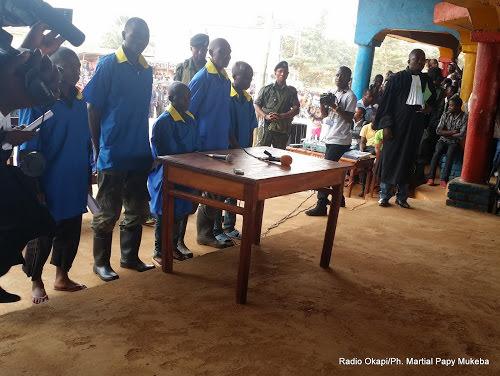 beni des rebelles ougandais des adf condamnes jusqua la peine de mort - Nord-Kivu : le coordinateur de la société civile de Batangi-Mbao serait menacé par les ADF