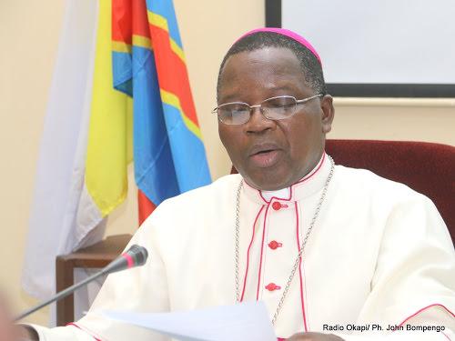 RDC : Mgr Marcel Utembi appelle la classe politique «à veiller à la promotion du bien-être de la population»