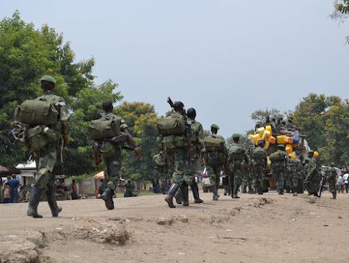 Arrivée de renforts  militaires à Djugu, confronté aux tensions intercommunautaires