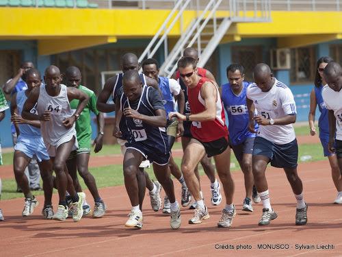 Bienvenu Matenda, élu président de la fédération congolaise d'athlétisme