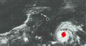Hawaï placé en alerte à cause de l'ouragan Lane