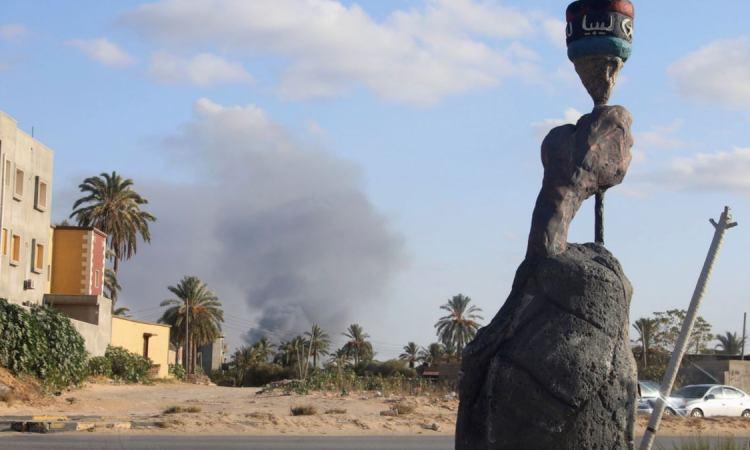 AF5F55EB ADA0 400A A175 538CFE239536 cx0 cy6 cw0 w1200 r1 s - Au moins 27 morts en trois jours de combats près de Tripoli