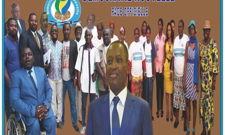 Législatives et locales: Démocratie Nouvelle a ses candidats