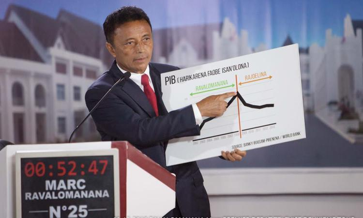 m r rj6 - Duel au couteau entre deux «ex» pour la présidentielle malgache