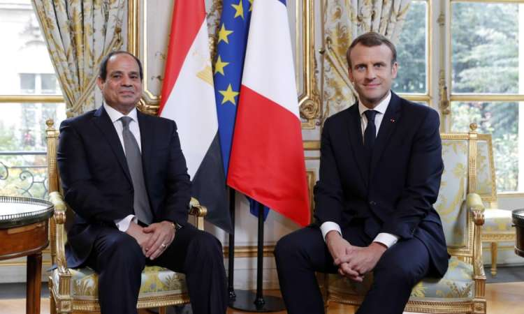 Nouvel entretien Macron-Sissi et visite aux chefs religieux