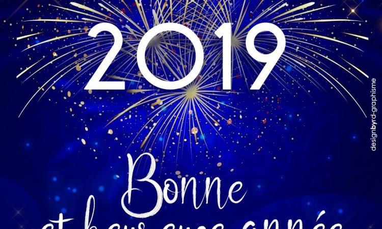 Bonjour 2019 !