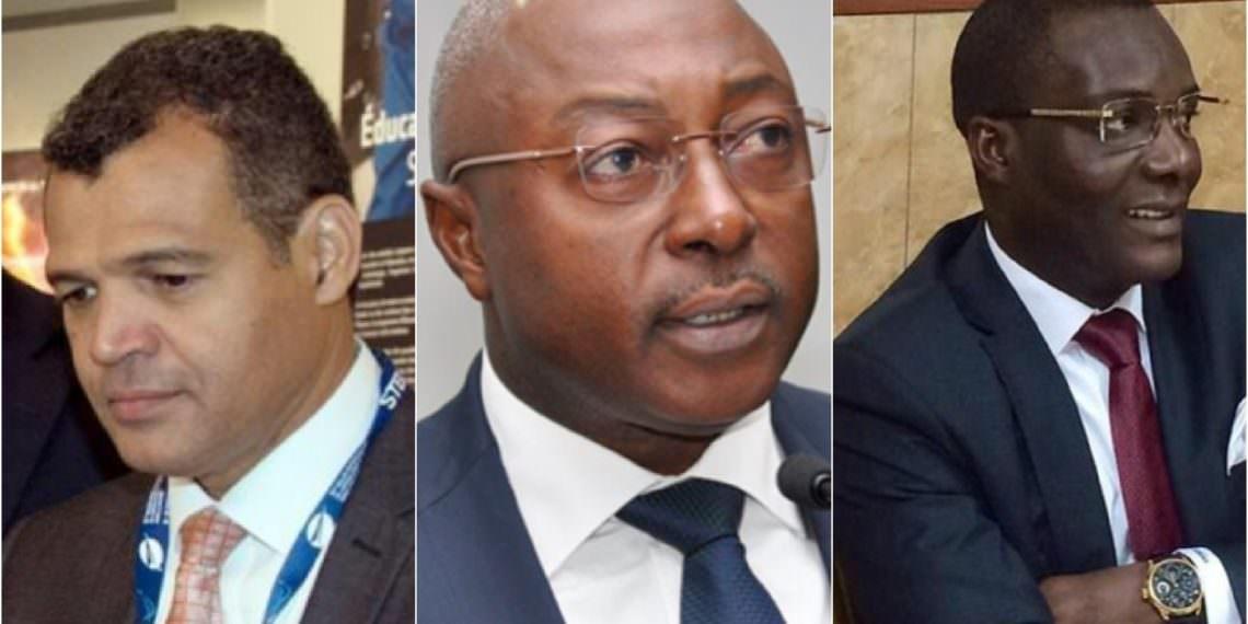 Ali Akbar, Etienne Massard et Christian Magnagna ne sont plus ministres