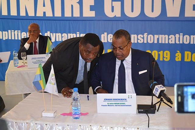 Gabon/Séminaire gouvernemental : Julien Nkoghe Bekale et son équipe peaufine leur action