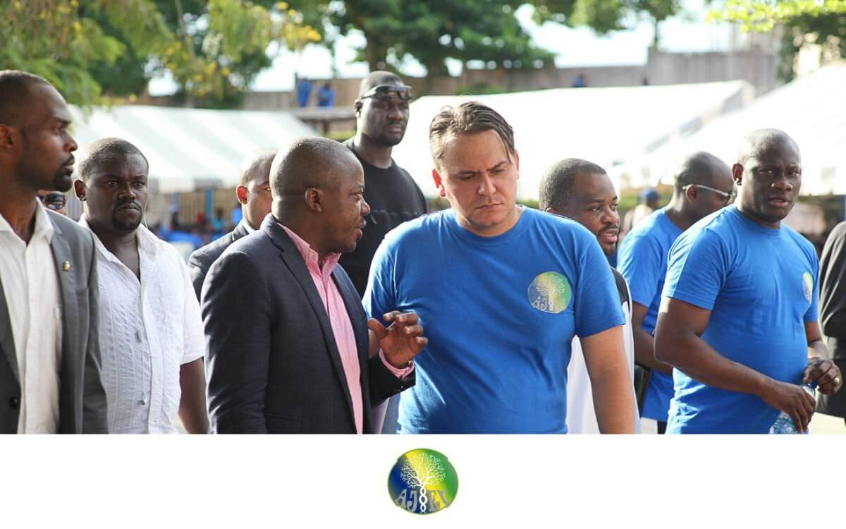 photo presi et vip - Gabon/Lancement des activités de l'Association des Jeunes Émergents Volontaires (A.J.E.V)