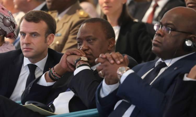 Macron asengi Tshisekedi asala gouvernement ezali na bato ya Fayulu na Katumbi