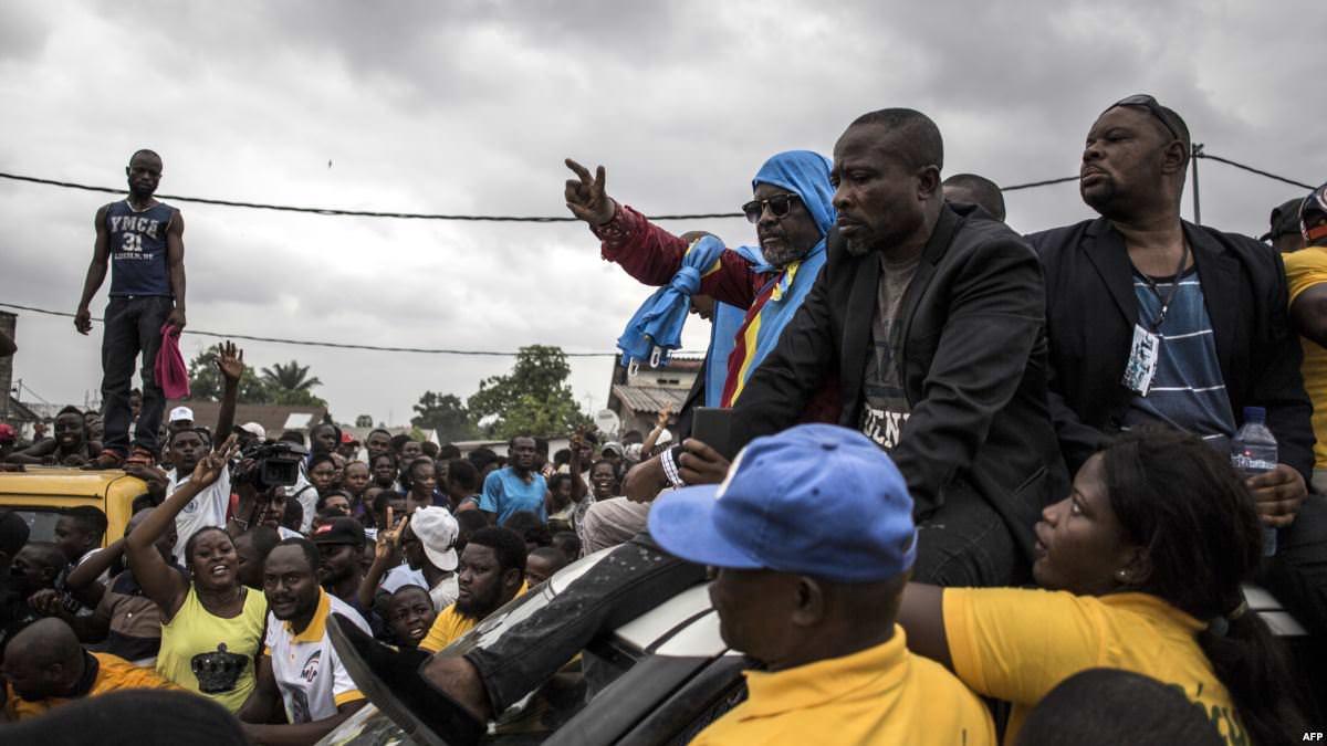Franck Diongo na Firmin Yangambi babimi na boloko