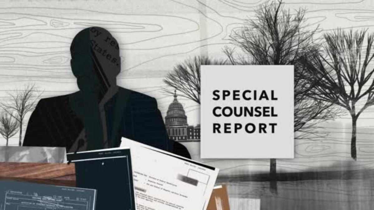 Explicatif en images : rapport de procureur spécial