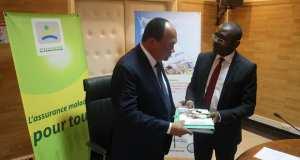 Gabon/CNAMGS : Charles IMUNGA-OREZANS installé dans son fauteuil de PCA