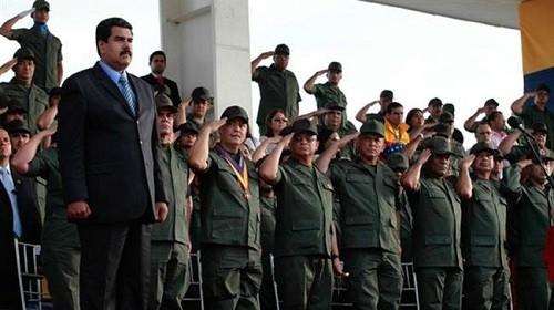 Les «Hachd» vénézuéliens, «colectivos», rejoignent l'armée vénézuélienne!