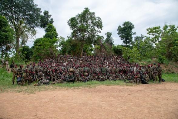 TCHAD/Bataillon d'Infanterie Territorial 4 : cérémonie de fin de formation opérationnelle avec l'EUTM-RCA