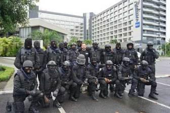 COOPERATION FRANCE GABON FORMATION - Coopération militaire Gabon–France : contre le terrorisme, formation des unités d'intervention de la police gabonaise