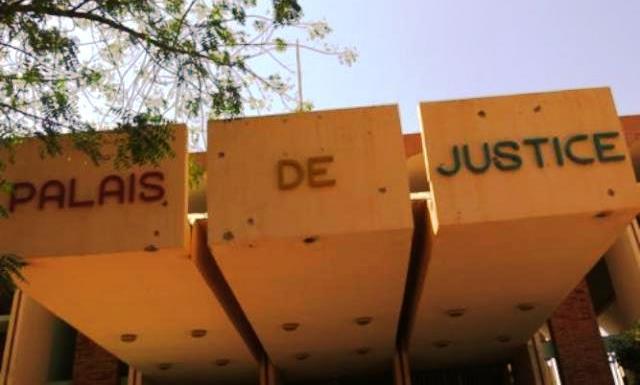 Marche des avocats au Burkina le 29 avril