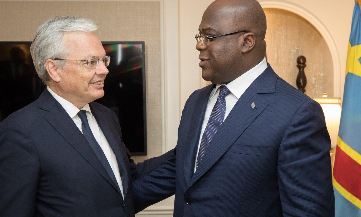 reynders - RDC : La Belgique reconnaît en Tshisekedi le président du Congo