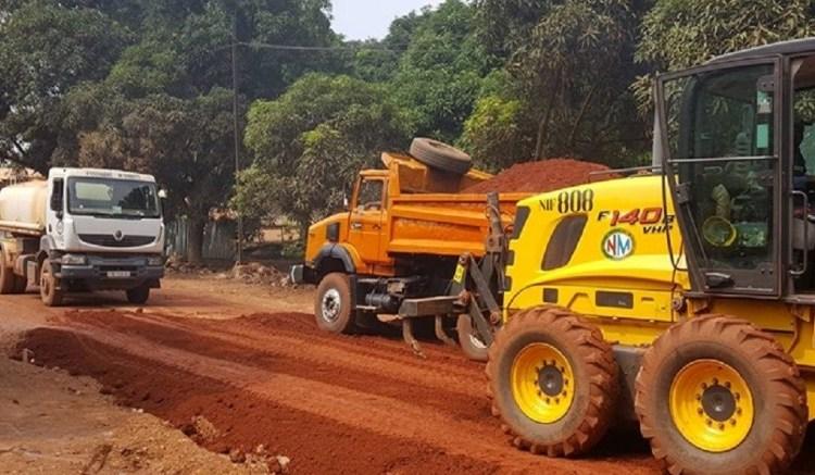 Centrafrique: Sogea Satom suspend ses travaux