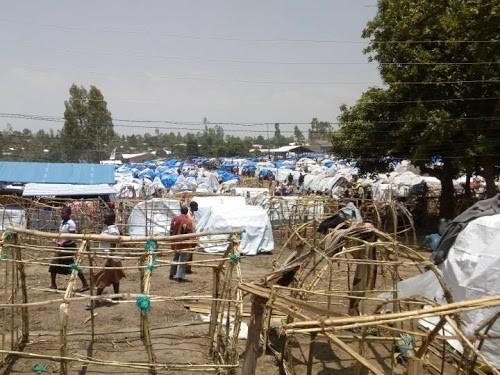 Des ONG humanitaires lancent un SOS pour 60 000 déplacés à la frontière congolo ougandaise - Des ONG humanitaires lancent un SOS pour 60 000 déplacés à la frontière congolo-ougandaise