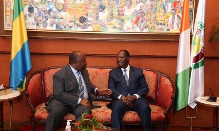 Gabon : Alassane Ouattara ce mercredi à Libreville