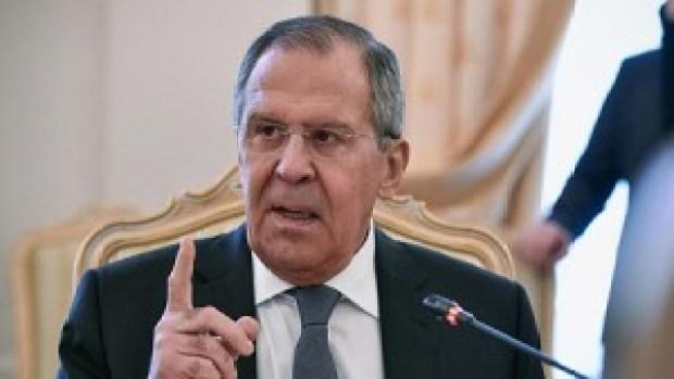 Le ministre russe des Affaires étrangères, Sergueï Lavrov . Photo LeQuotidien.sn