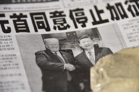 Donald Trump et Xi Jinping  - Guerre commerciale: Pékin accuse les USA de «terrorisme économique»
