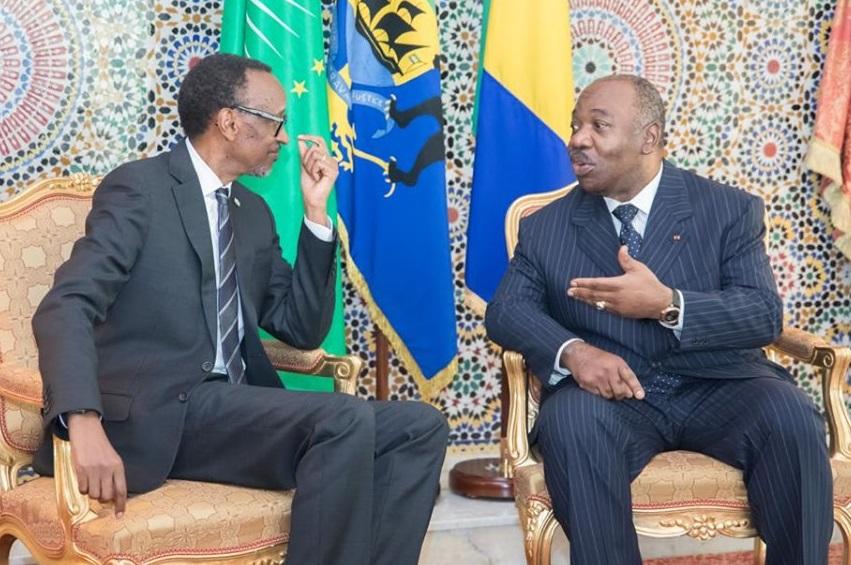 Gabon Paul Kagame satisfait de la récupération d'Ali Bongo Ondimba - Gabon : Paul Kagame satisfait de la récupération d'Ali Bongo Ondimba