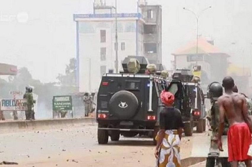 Guinée : Une manifestation contre un 3e mandat d'Alpha Condé réprimée