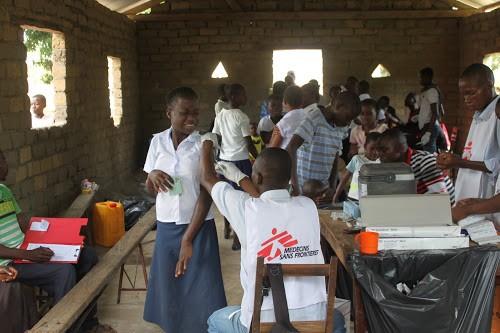 RDC : MSF appelle à une mobilisation pour vacciner les enfants contre la rougeole