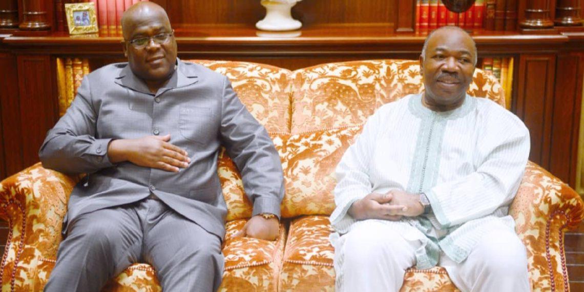 Visite de travail et d'amitié du Président Félix Tshisekedi en terre gabonaise