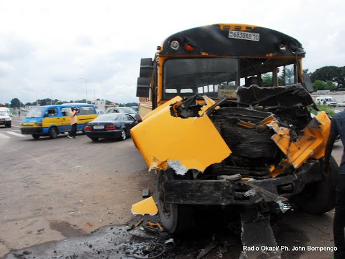 Kwilu : 9 morts et 47 blessés dans un accident de circulation à Kwenge